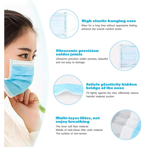 Disposable Face Mask 10 pcs/ pack