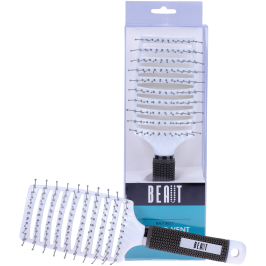 BEAUT SELECT CURVED VENT BRUSH/STYLING BRUSH