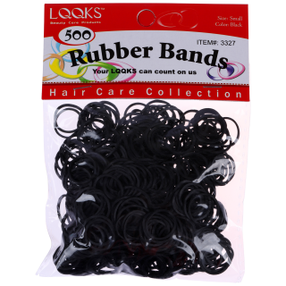 LQQKS Rubber Band Small Black 250PC/PK