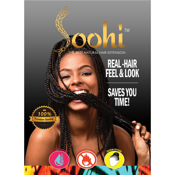 "Soohi Natural Hair Braid - 48"" / 86 gr - BeautyGiant USA"