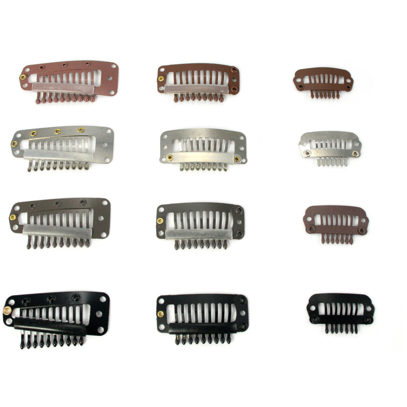 Clips for hair extensions - BeautyGiant USA