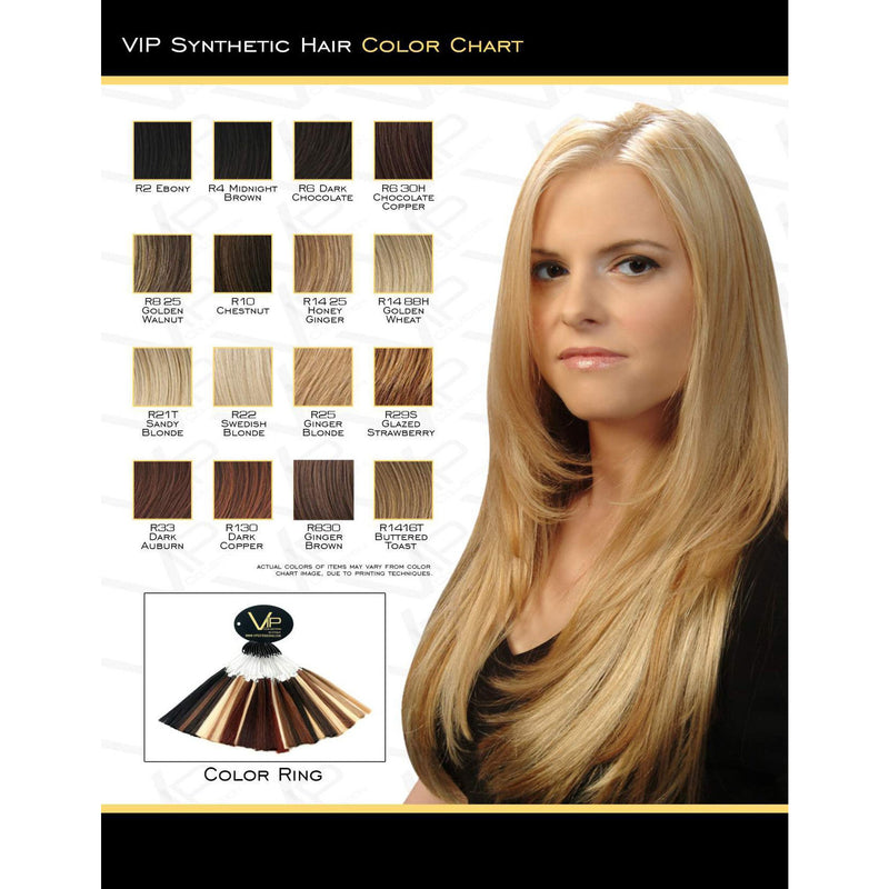 VIP Collection Synthetic Wig / Rose Style - BeautyGiant USA