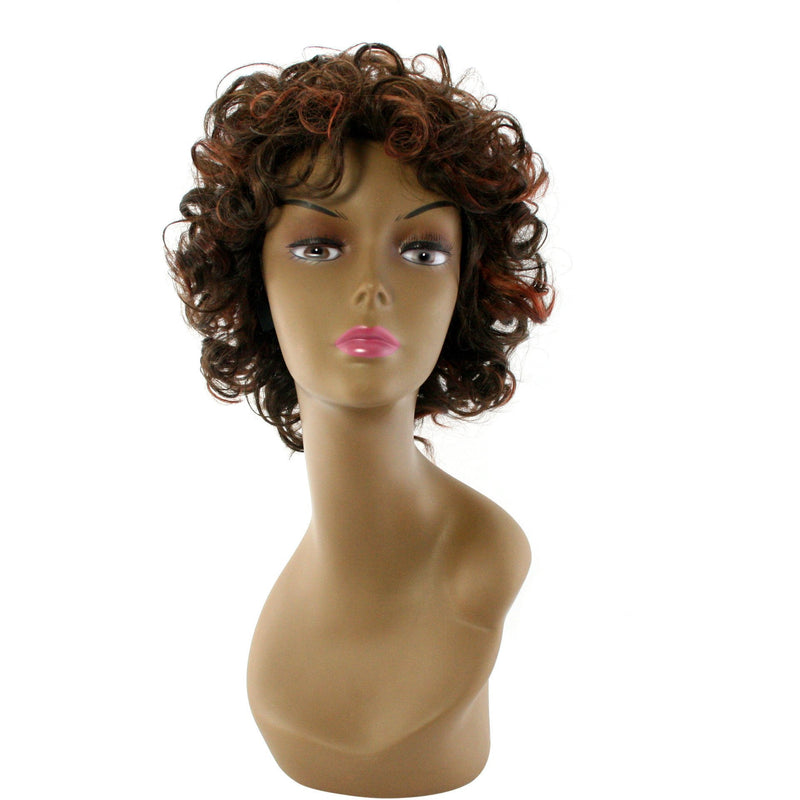 "Unique's 100% Human Hair Full Wig / Style ""S"" - BeautyGiant USA"