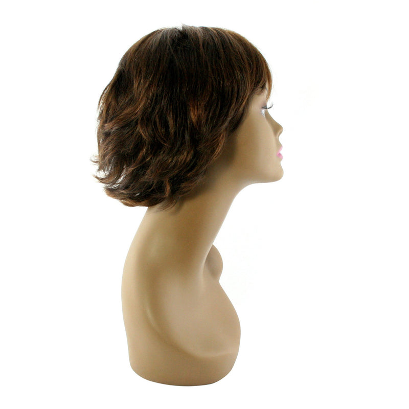 "Unique's 100% Human Hair Full Wig / Style ""V"" - BeautyGiant USA"