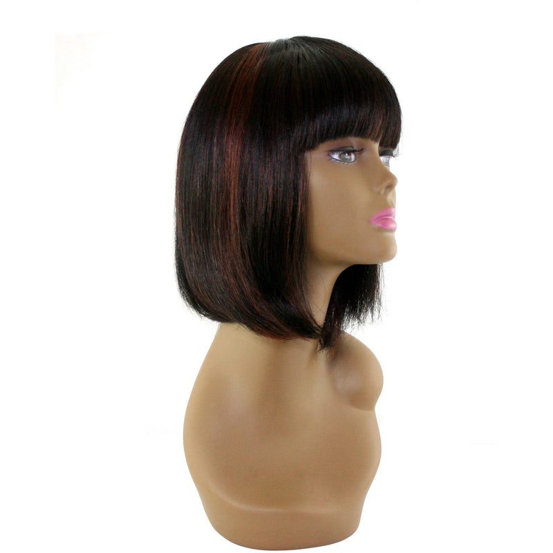 "Unique's 100% Human Hair Full Wig / Style ""A8"" - VIP Extensions"