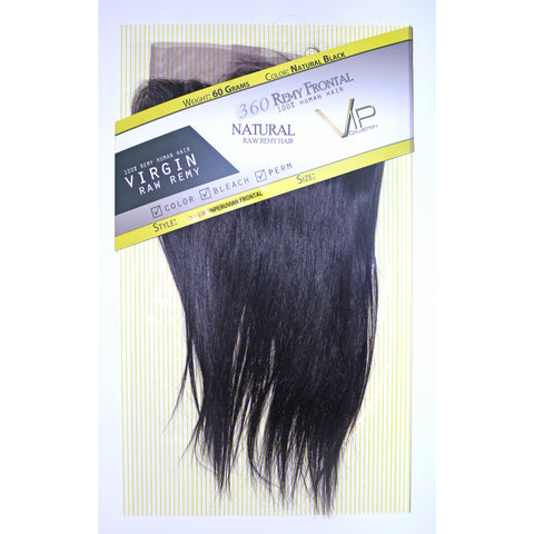 360 Peruvian Frontal Remy Virgin Human Hair