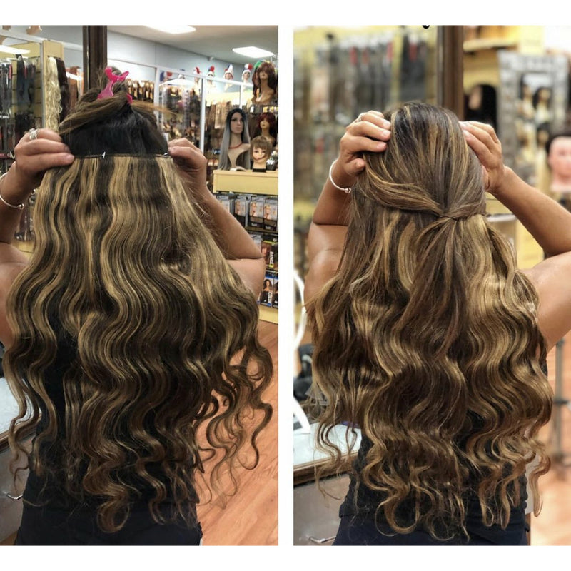 "BandX Halo Body Wave 24"" with Clip"