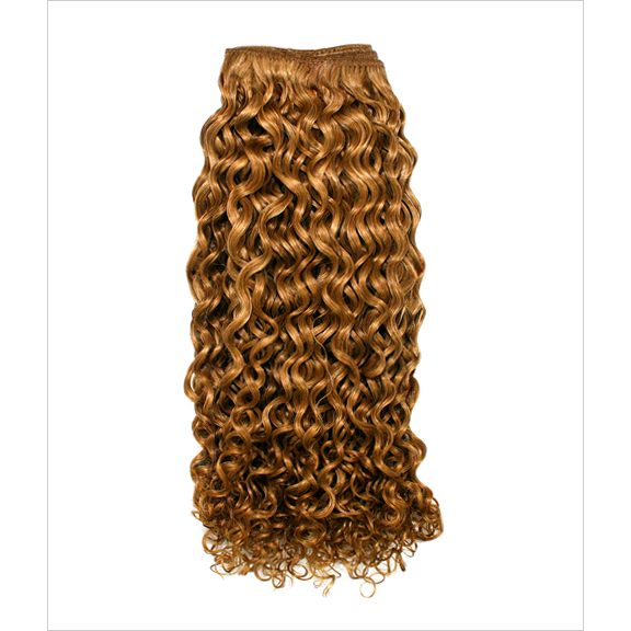 Unique's Human Hair Jerri Curl 12 Inch - VIP Extensions