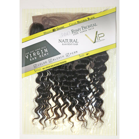 360 Malaysian Virgin Human Hair Frontal
