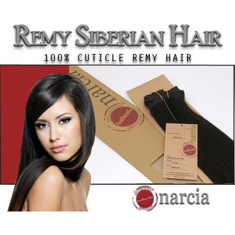 "Narcia Remy Siberian - Clip On - 24"" - BeautyGiant USA"