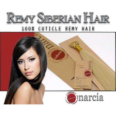 "Narcia Remy Siberian - I-Tip - 24"" - VIP Extensions - 1"