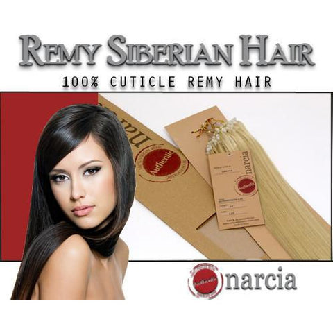 "Narcia Remy Siberian - Micro Ring - 24"" - VIP Extensions - 1"