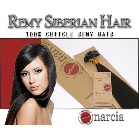 "Narcia Remy Siberian - U-Tip - 24"" - VIP Extensions - 1"