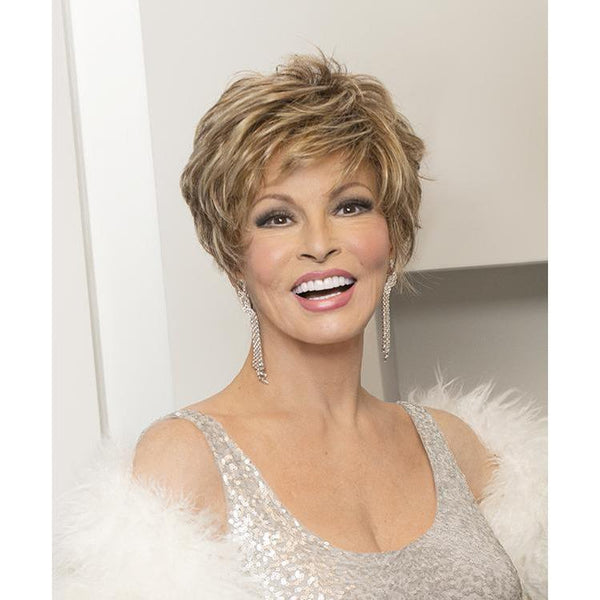 SPARKLE EILITE - wig by Raquel Welch - Sheer IndulgenceŸ?? Temple to Temple Lace Front - BeautyGiant USA