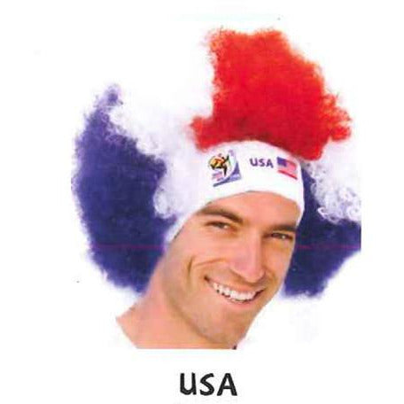 2010 Official Fifa Soccer Afro Wig - VIP Extensions