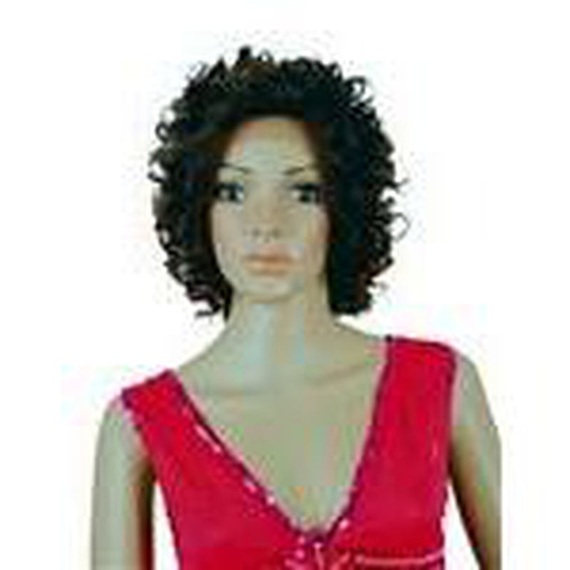 "Remy Human Hair Lace Front Wig '300' (curly) 12"" long - BeautyGiant USA"