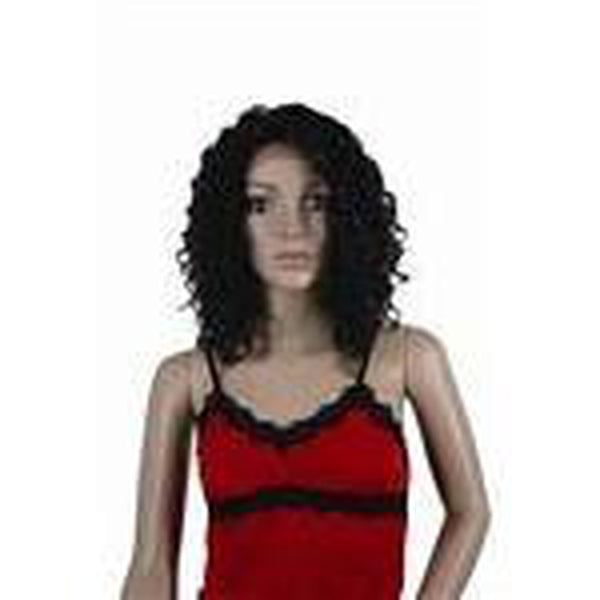 "Remy Human Hair Lace Front Wig '500' (curly) 15"" long - BeautyGiant USA"