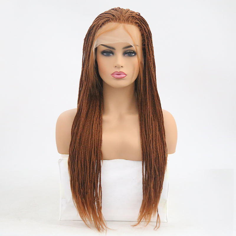 VIP - Synthetic Lace Front Wig Braided - BeautyGiant USA