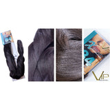 X Braid - 100% Kanekalon Fibers - VIP Extensions