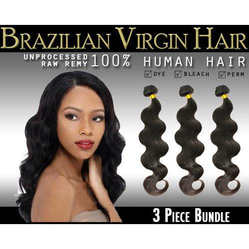 VIP Collection Brazilian Virgin Hair / Body Curl Bundles - VIP Extensions