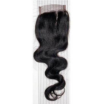 VIP Collection Brazilian Body Curl Virgin Hair Closure - VIP Extensions - 1