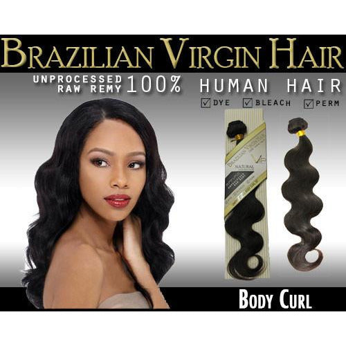 VIP Collection Brazilian Virgin Hair /  Body Curl - BeautyGiant USA