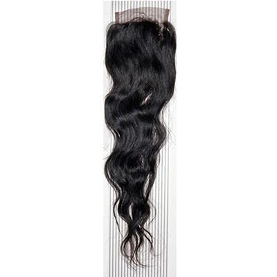 VIP Collection Brazilian Natural Curl Virgin Hair Closure - VIP Extensions - 1