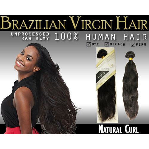 VIP Collection Brazilian Virgin Hair / Natural Curl - BeautyGiant USA