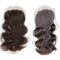 VIP Collection 3 Part Brazilian Virgin Natural Lace Closure in Natural Curl or Body Curl - BeautyGiant USA