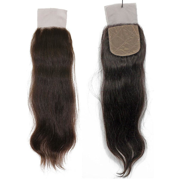 VIP Collection Virgin Hair Silk Base Closure / Natural Curl - BeautyGiant USA