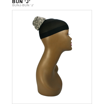 Unique's Kanekalon Bun J - BeautyGiant USA