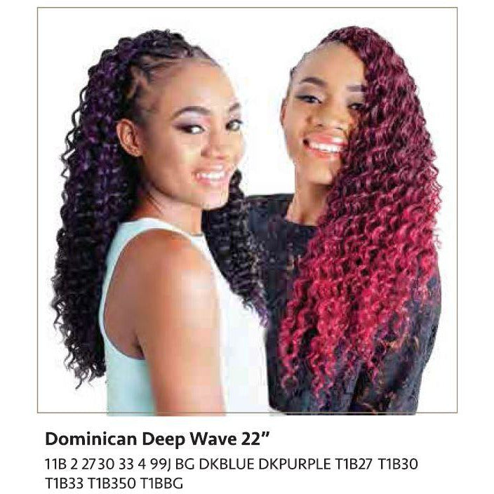 "Linda Braid - Dominican Deep Wave 22"" - BeautyGiant USA"