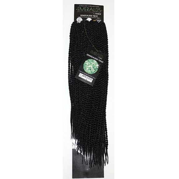 "Emerald's Senegal Twist Braid 18"", 20"", 22"" (81 Pieces) - BeautyGiant USA"