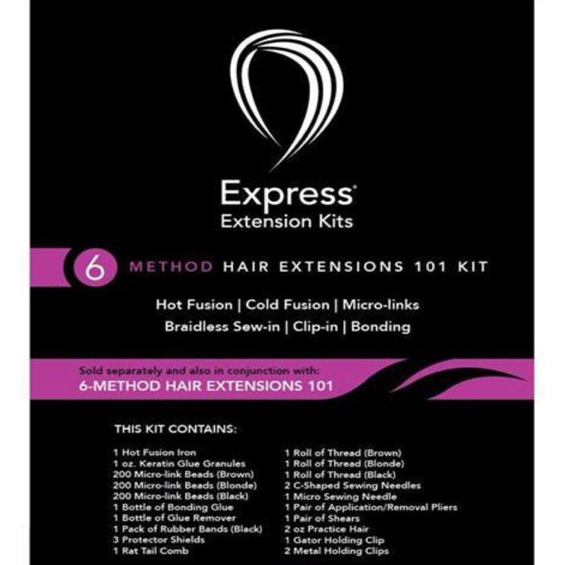 6 Methods of Hair Extensions Workshop - BeautyGiant USA