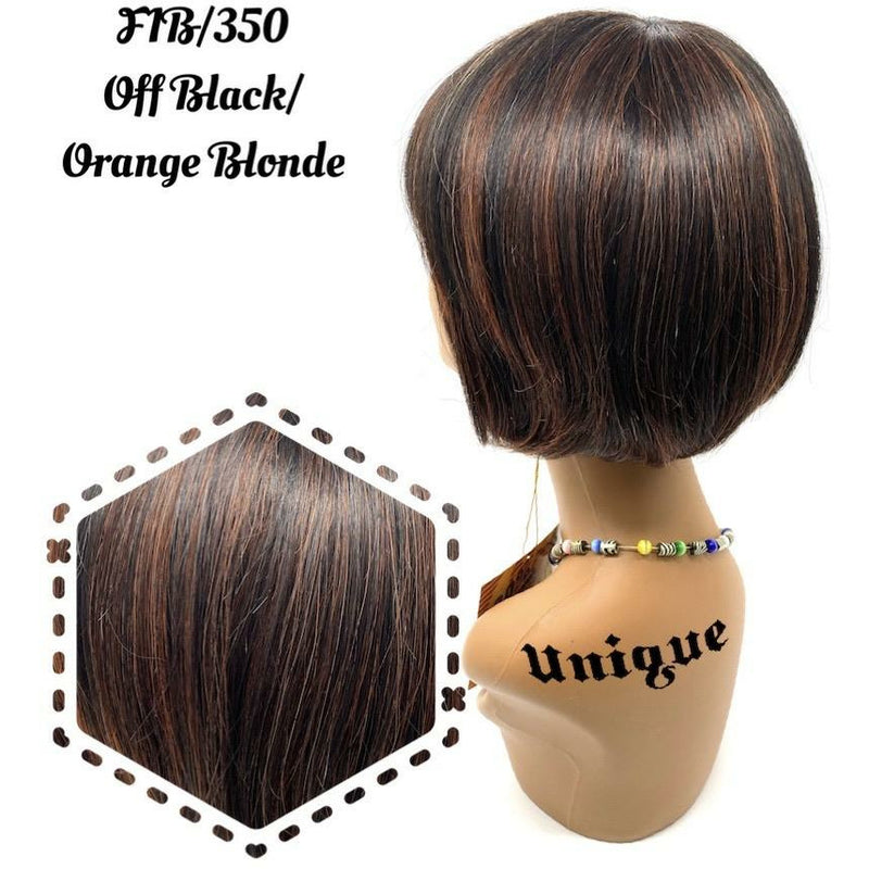 "Unique's 100% Human Hair Full Wig / Style ""B"""