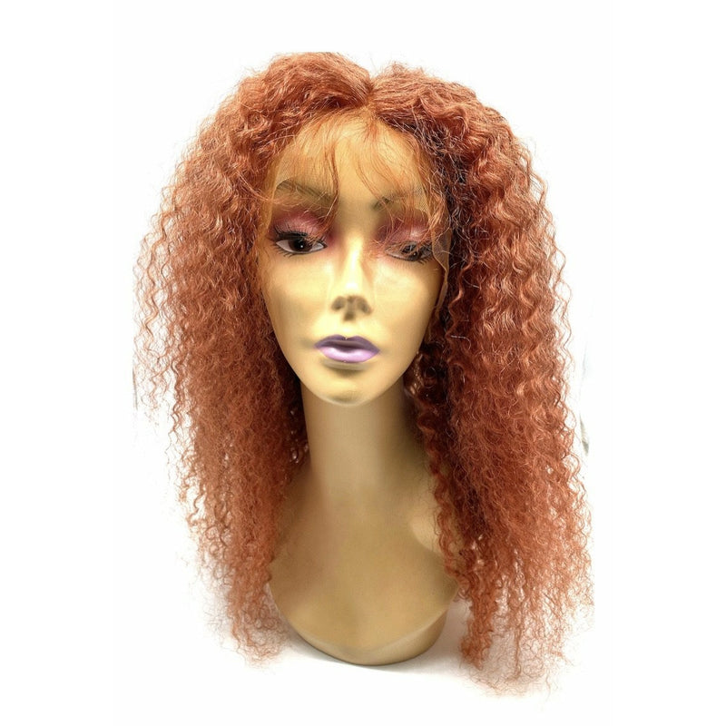 RIO Full Lace Human Hair Wig Bohemian  Cinnamon -  24''
