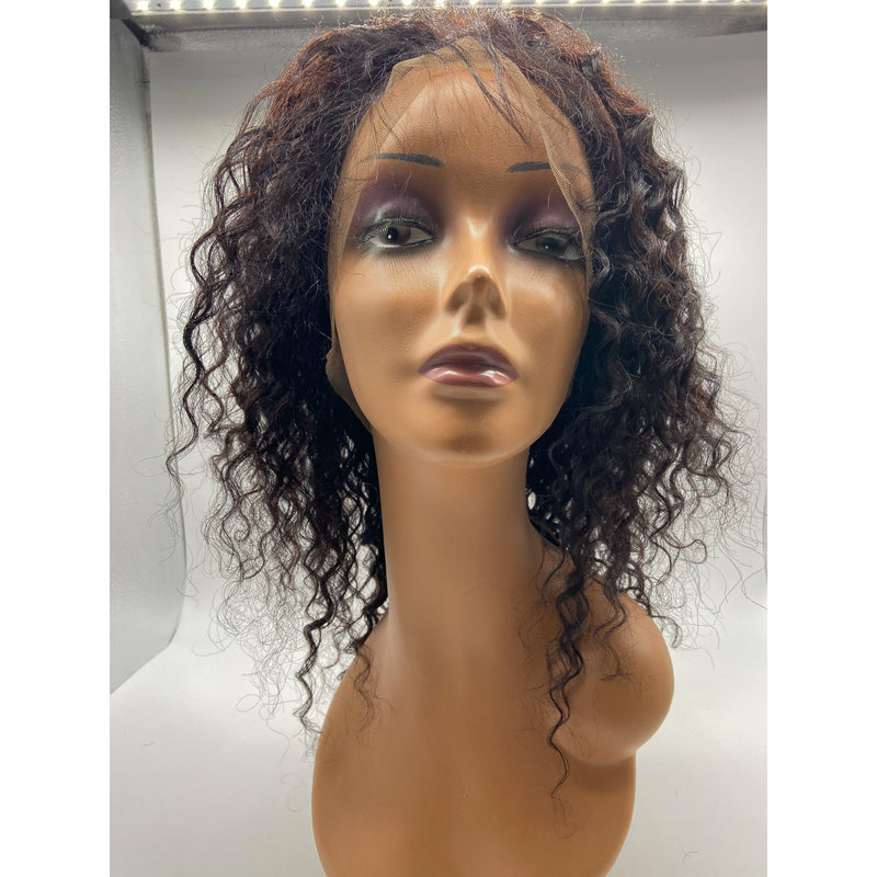 RIO Full Lace Human Hair Wig Pineapple Wave
