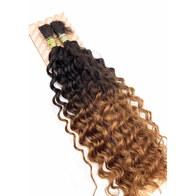 Unique's Human Hair New Deep Bulk 18''