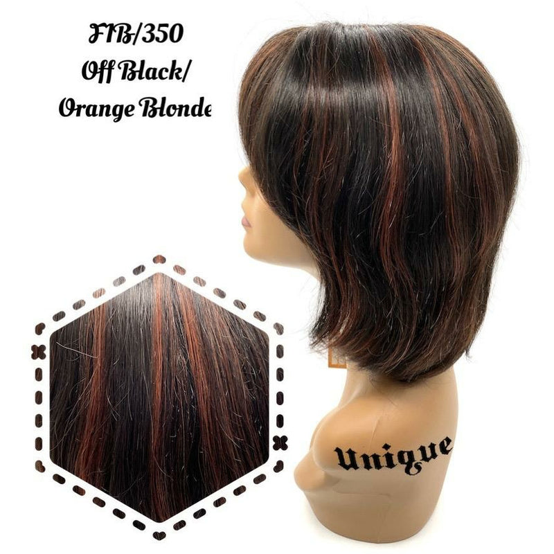 "Unique's 100% Human Hair Full Wig / Style ""T"""