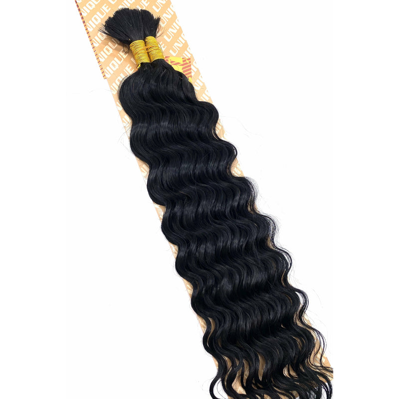 Unique's Human Hair New Deep Bulk 14''