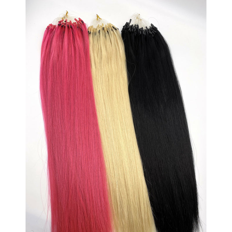 VIP TUBEX SYSTEM 100% HUMAN HAIR EXTENSIONS-STRAIGHT