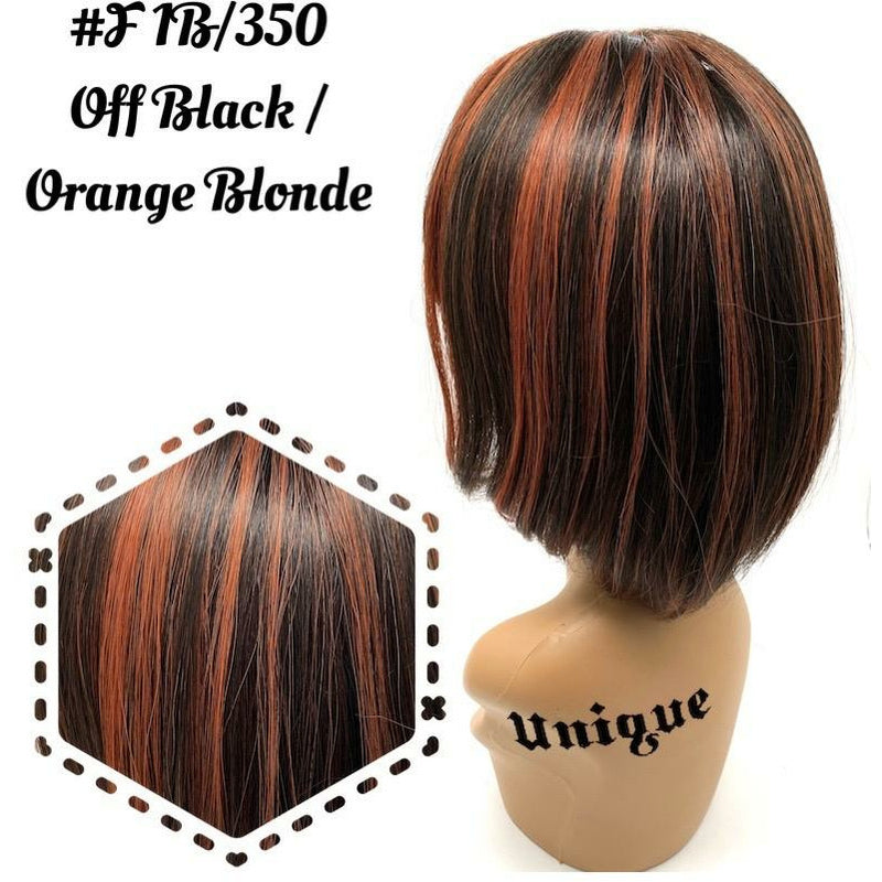 "Unique's 100% Human Hair Full Wig / Style ""J"""