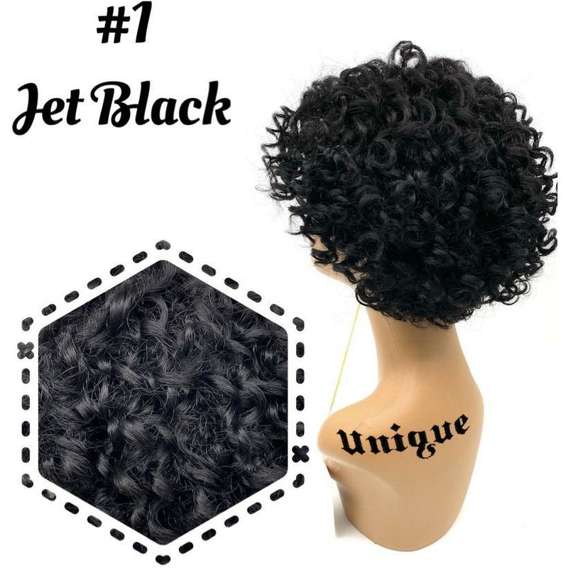 "Unique's 100% Human Hair Full Wig / Style ""A3"""