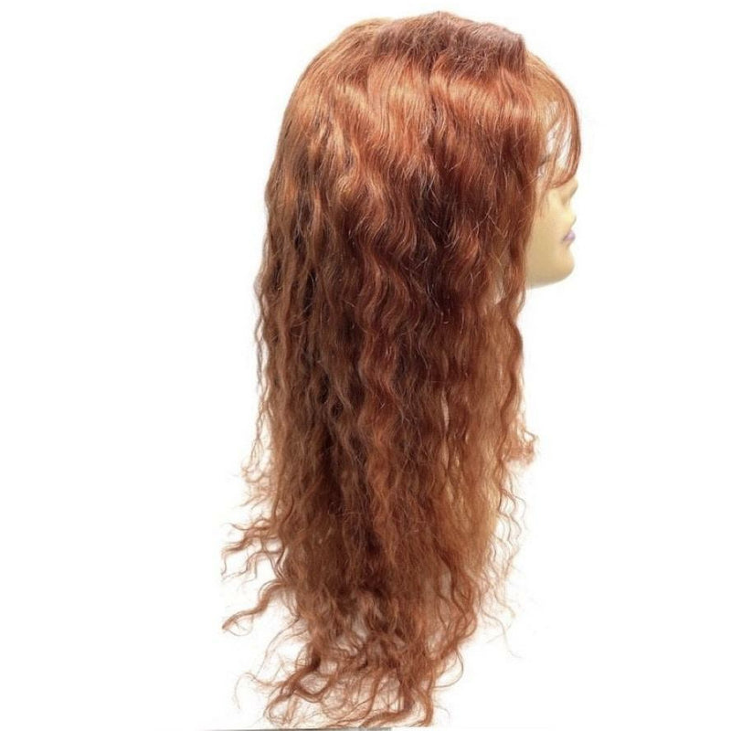 RIO Full Lace Human Hair Wig  Malaysian color  Cinnamon 24''