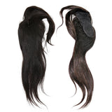 "VIP Collection Perfect Bang Closure Indian Silky Straight 12"" Natural Black Virgin Hair - VIP Extensions"