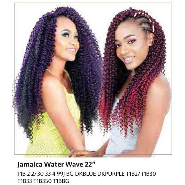 "Linda Braid - Jamaica Water Wave 22"" - BeautyGiant USA"