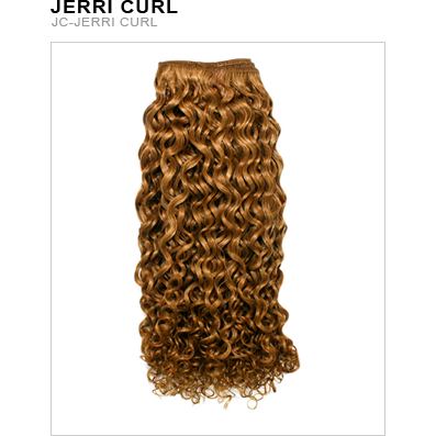 Unique's Human Hair Jerri Curl 16 Inch - BeautyGiant USA