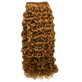 Unique's Human Hair Jerri Curl 10 Inch - BeautyGiant USA