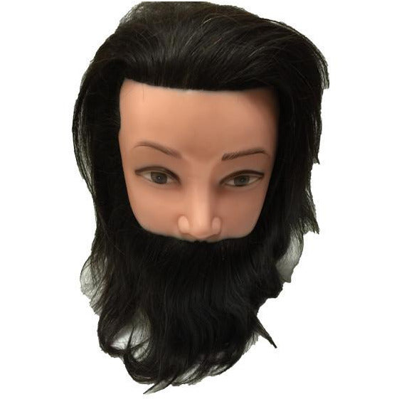 Practice Mannequin Head / Man with Beard - BeautyGiant USA