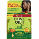OLIVE OIL EDGE CONTROL HAIR GEL - EXTRA HOLD 2.25 OZ